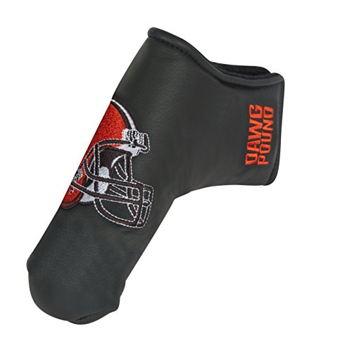 Team Effort NFL Cleveland Browns Black Blade Putter Cover ()
