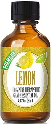 Lemon Essential Oil - 100% Pure Therapeutic Grade Lemon Oil - 60ml