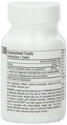 Source Naturals Relora, 250mg, 90 Tablets (Pack of 2) by Source Naturals (Image #4)