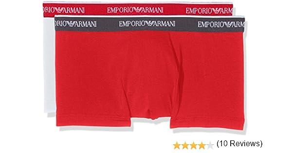 Emporio Armani Underwear 1112107P717, Calzoncillos Para Hombre, Pack de 2: Amazon.es: Ropa y accesorios