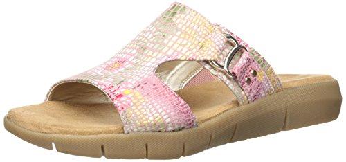 Aerosoles Sandalias de Nueva WIP pescador de la mujer Pink Floral
