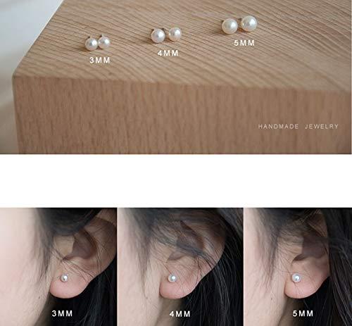 Buy 4mm 925 stud earrings