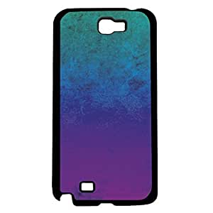 Teal, Blue, and Purple Ombre Gradient Hard Snap on Phone Case (Note 2 II)