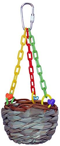 Super Bird Creations Hanging Treat Basket Toy (SB861)