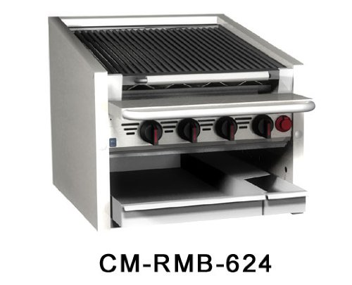 Magikitch'n Coal Charbroiler 60'' wide - CM-SMB-660 by Magikitch'N