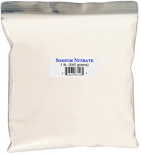 Sodium Nitrate, Reagent Grade (chemically Pure) – 1 lb. Bag