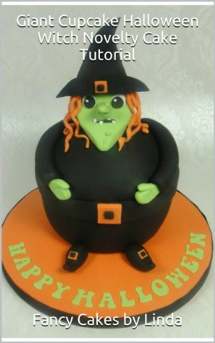 Giant Cupcake Halloween Witch Novelty Cake Tutorial