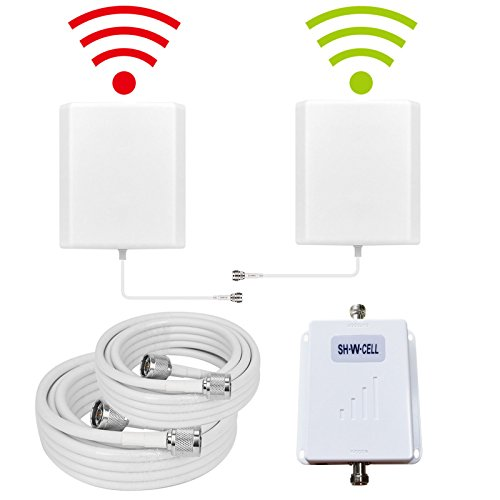 Verizon Wireless Cell Phone - Verizon Cell Phone Signal Booster 4G LTE Band13 700MHZ 70dB High Gain Mobile Phone Signal Booster Cell Phone Booster Repeater Mobile Signal Amplifier SHWCELL Including Dual Panel Antennas For Home use