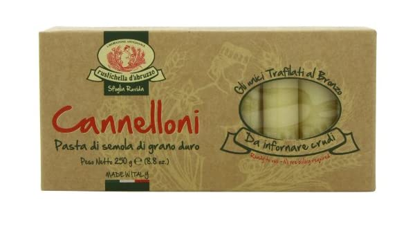 Amazon.com : Rustichella Cannelloni Pasta (Pack of 3) : Grocery & Gourmet Food
