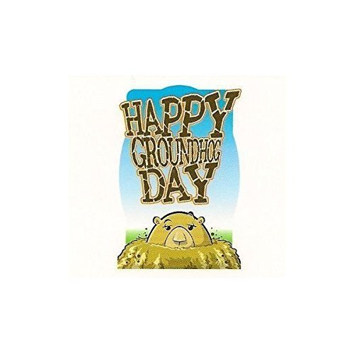 Happy Groundhog Day ~ Edible Image Cake Topper