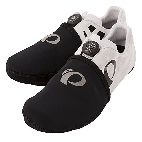 Pearl Izumi Elite Thermal Toe Cover, Black, Small/Medium (Cycling Shoe Covers)