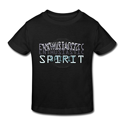 [Cotton Short Sleeve Toddler Kids Tees Enthusiastic Spirt] (Spirt Halloween)