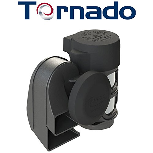 SUPER LOUD MARCO TORNADO Compact Air Horn for ALL 12V Vehicles: Motorcycles, Cars, & Trucks (Loud Air Horns)