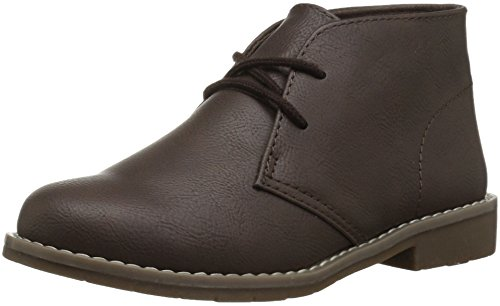 The Children's Place Boys' BB Bradley Chukka Boot, Brown, Youth 4 Youth US Big Kid