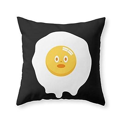 Society6 Kentucky Fried Egg Throw Pillow