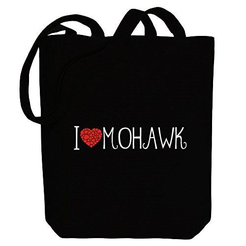Idakoos I love Mohawk cool style - Sprachen - Bereich für Taschen