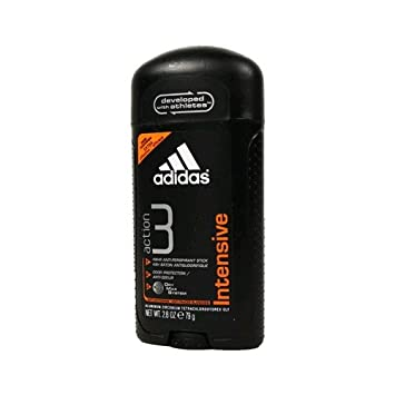 Adidas Action 3 Intensive Anti Perspirant for Men, 2.8 Oz (ONE STICK)