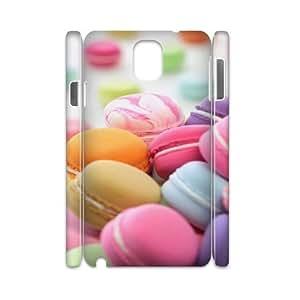 Samsung galaxy note 3 N9000 Macaron 3D Art Print Design Phone Back Case DIY Hard Shell Protection HGF050940