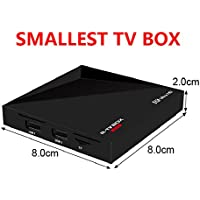 R-TV Box Mini 1G+8G Quad Core Rockchip 3229 WIFI 4K2K HD Smart TV Box Mini PC Media Player