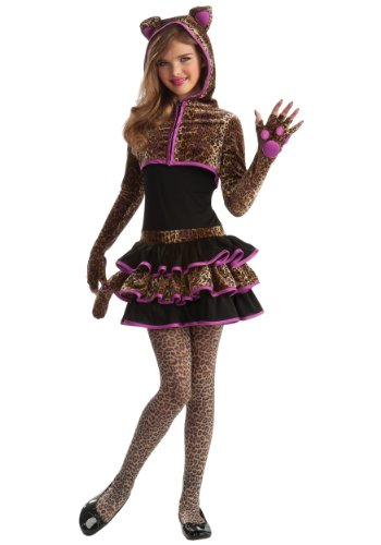 Rubie's Drama Queens Tween Leopard Costume - Tween Medium (2- 4) ()