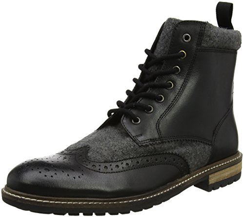 Bottines Noir A Grey It Homme Leather Black Boots Joe Browns Up Mix 1qHwHY