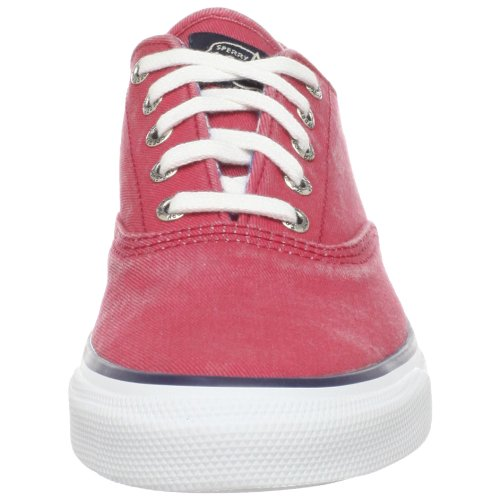 Spider Top-sider Dames Cvo Canvas Veterschoen Rood