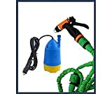 VelVeeta Portable Home and Car Electric Pressure Washer With Water Gun + 10m Special Hose Pipe + Submersible Pumps