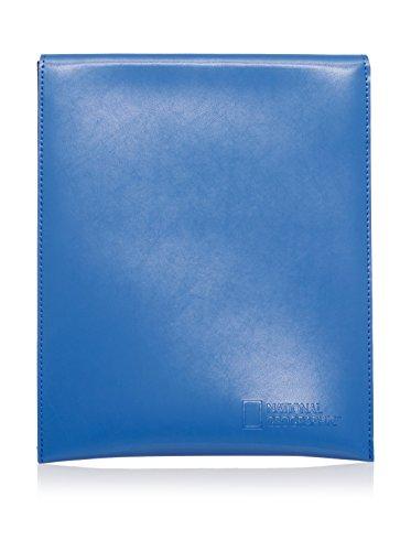 National Geographic Portadocumentos Azul Única