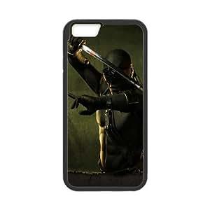 Back Skin Case Shell iPhone 6s 4.7 Inch Cell Phone Case Black brosok kobry gi joe igry kino Tiqjv Pattern Hard Case Cover