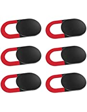 Senmubery 6 Pack Webcam Cover Slide Privacy Ultra Thin Anti-Spy Laptop Camera Cover For Computer