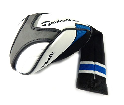 NEW TaylorMade Universal SLDR White/Blue/Black Driver Headcover