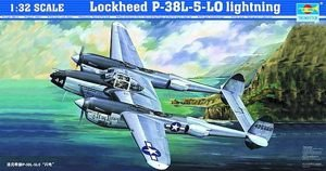Trumpeter 02227 1/32 Lockheed P38L Lightning for sale  Delivered anywhere in USA
