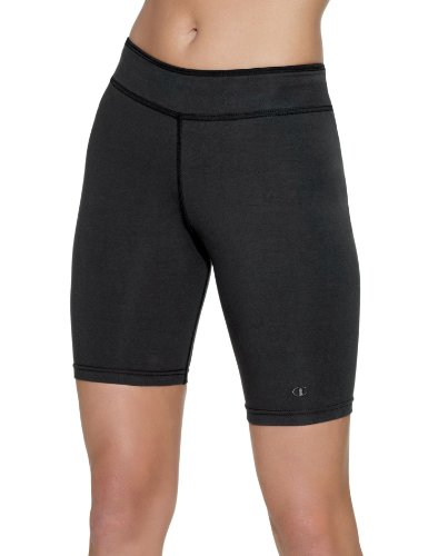 Champion Women`s Stretch-Cotton Fitted Shorts