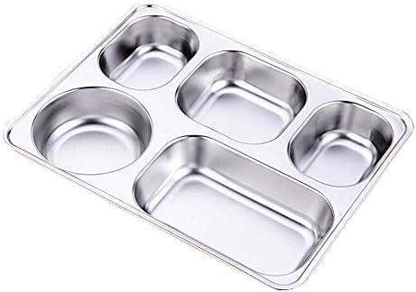 Bo/îte /à d/éjeuner Bento pliable en silicone /à 3 compartiments avec couverts Jaune Passe au micro-ondes et au lave-vaisselle Peu encombrante Original Home Gems Sans BPA /Étanche /à lair