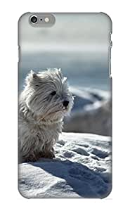 For Iphone 6 Plus Fashion Design Animal Dog Winter Snow Case-zkzumm-1855-jgqaolk / Cover Specially Made For Thanksgiving Day's Gift