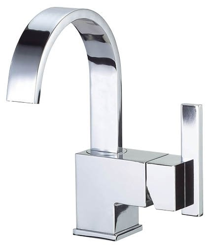 Single Handle Lavatory Faucet, Chrome (Sirius Sink Faucet)
