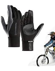 Winter Fietshandschoenen voor Mannen Vrouwen, Waterdichte Touchscreen Fietshandschoen voor Outdoor Running Training