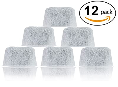 12-Pack K&J Replacement Water Filters for Coffee Makers - DCC-RWF Compatible