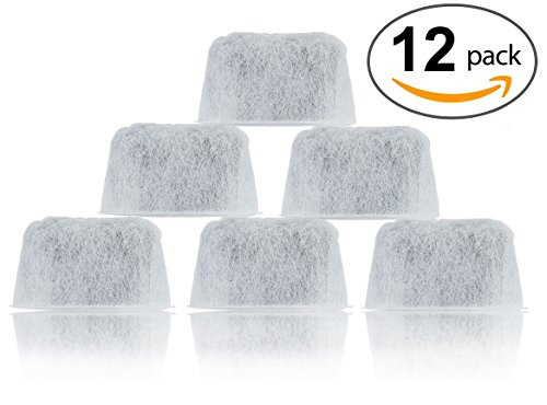 12-Pack Replacement Cuisinart Water Filters - DCC-RWF (Cuisinart Charcoal compare prices)