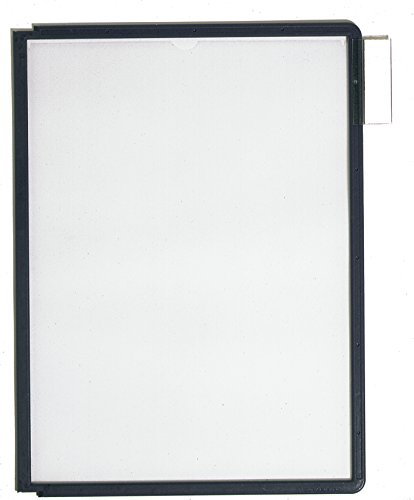 (Durable Sherpa Display Panels, Black, Pack Of 10)