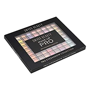 Swiss Beauty MakeUp PRO 100 Color Eyeshadow Palette, Eye MakeUp, Multicolor-01, 110g