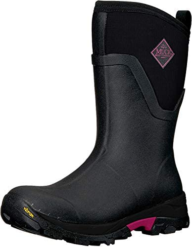 Muck Boot Arctic Ice Extreme Conditions Mid-Height Rubber Women's Winter Boot With Arctic Grip Outsole