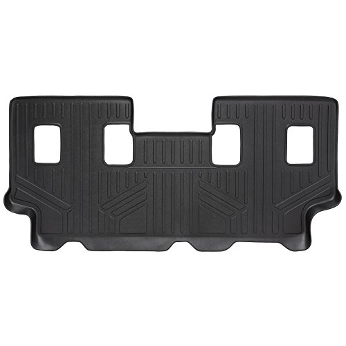 (SMARTLINER Floor Mats 3rd Row Liner Black for 2007-2017 Ford Expedition EL/Lincoln Navigator L (With 2nd Row Bench Seat Or 2nd Row Console))