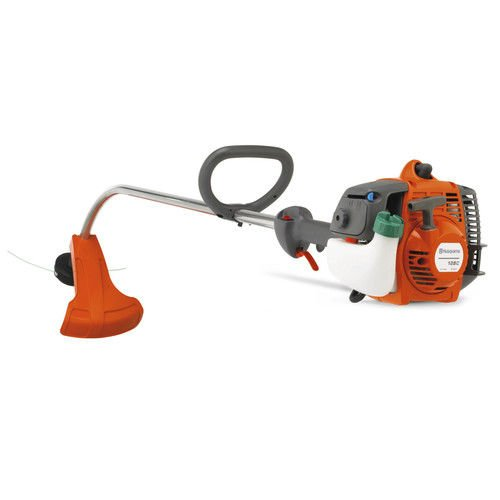 Husqvarna 966441801 28cc Gas 17 in. Curved Shaft String Trimmer (Certified Refurbished) by Husqvarna