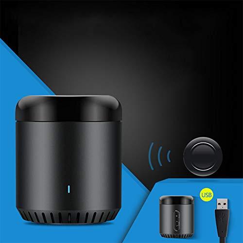 Lanlan Mando a Distancia BroadLink Universal Inteligente WiFi Inalámbrico Mando a Distancia Via Teléfono Inteligente Hogar...