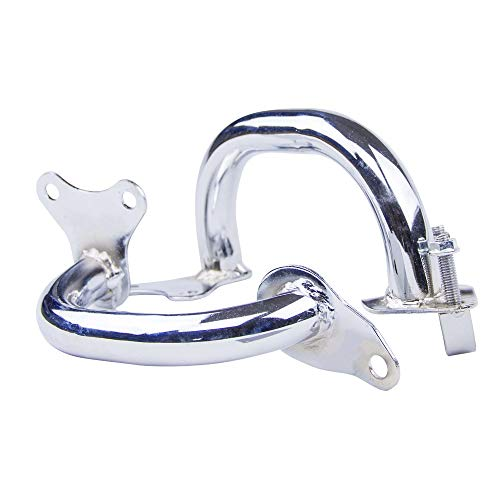(Jacana Boutique NICECNC Motorcycle Crash Bars Engine Guard Protector Chrome Plated Steel Tube For Honda CB750 CB 750 Nighthawk RC420)