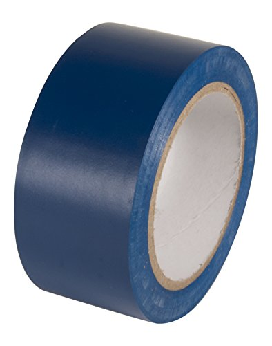 INCOM Manufacturing: Vinyl Aisle Marking Conformable Tape, 2 x 108, Safety Blue- Ideal for Walls, Floors, Equipment