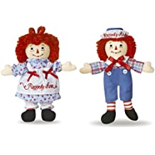 Raggedy Ann and Andy 8 Doll Set by AURORA