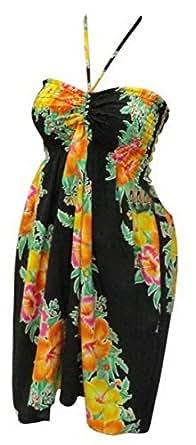 La Leela Designer Printed Partywear Halter Tube Dress