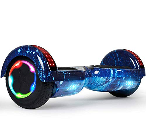 LIEAGLE Hoverboard, 6.5 Self Balancing Scooter Hover Board with UL2272 Certified Wheels LED Lights for Adult Kids